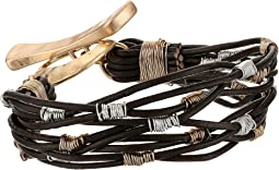 Robert Lee Morris - Wire Wrap Leather Bracelet