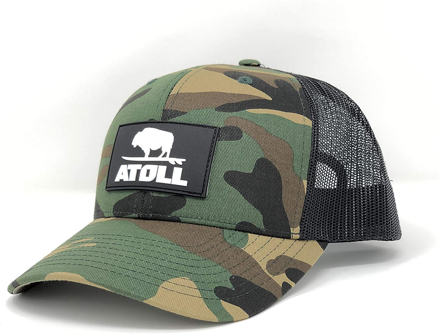 Atoll Baseball Cap Trucker Hat - 7 Hole Snapback Adjustable Breathable Hat by Atoll SUP Co.