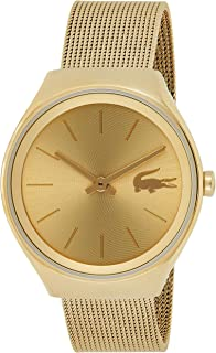 Lacoste Women's 'Valencia' Quartz and Stainless Steel Watch, Color:Gold-Toned (Model: 2000952)