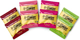 Honey Stinger Organic Energy Chews - Variety Pack – 8 Count - 2 of Each Flavor - Chewy Gummy Energy Source for Any Activity - Cherry Blossom, Lime-Aid, Cherry Cola & Fruit Smoothie