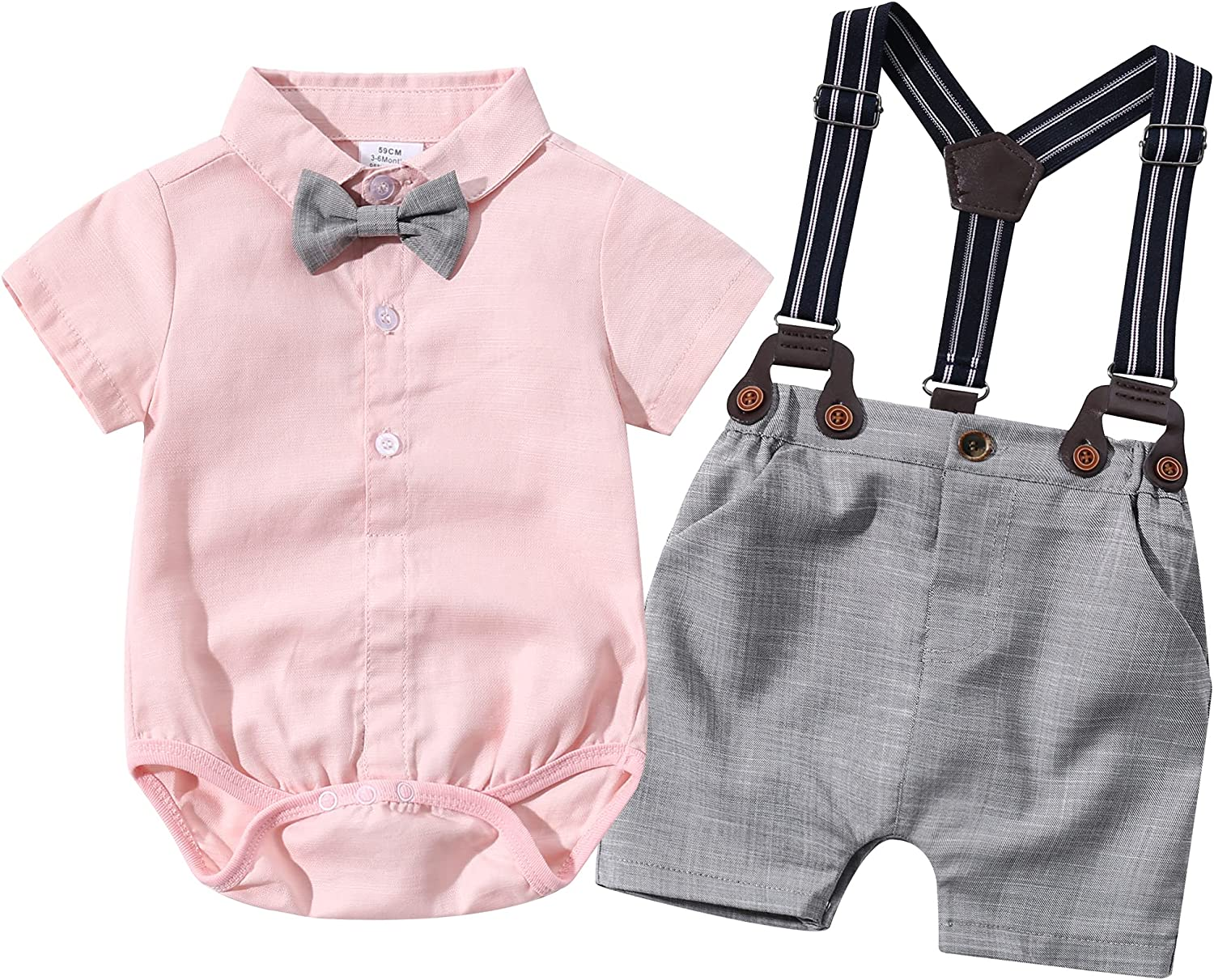 Baby Boys Gentleman Outfits Suits Infant Tampa Mall Oklahoma City Mall Short Shorts Sleeve Ov