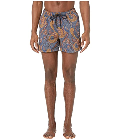Etro Paisley Overlay Swimsuit