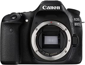 Canon EOS 80D body only Digital Camera - SLR(80DB) 3Inch Display,Black (Australian warranty)