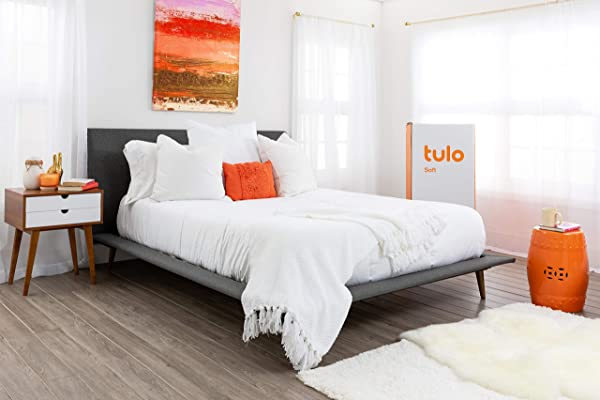 Mattress By Tulo Pick Your Comfort Level Soft Twin Size 10 Inch Bed In A Box Great For Sleep And Shoulder And Hip Pressure Relief