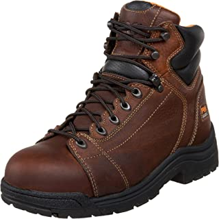 "Timberland PRO Mens Titan 6"" Lace-to-Toe Safety Toe"