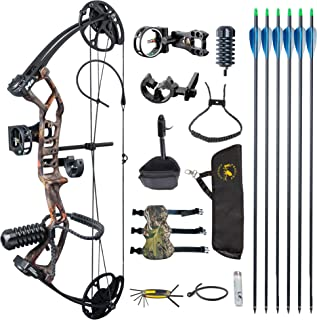 TOPOINT ARCHERY M2 Youth Compound Bow Set Beginners,Junior&kids Bow Women Bow 17