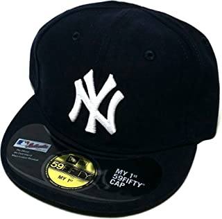 New Era New York Yankees 59Fifty My First Infant 1st Baby Blue Fitted Hat Cap 6