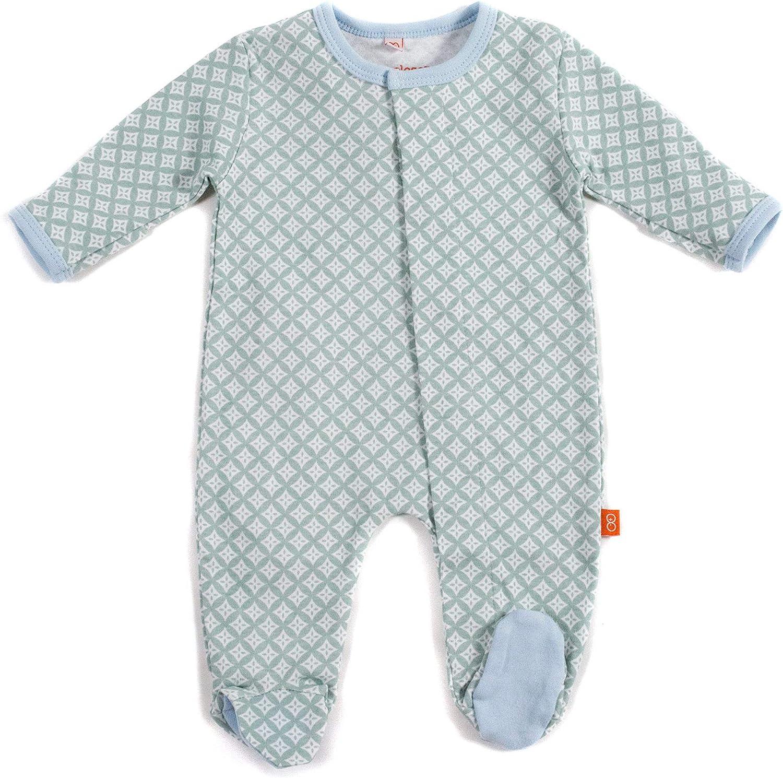 Magnetic Me Footie Pajamas 100/% Organic Cotton Baby Sleepwear Quick Magnetic Fastener Sleeper Serengeti Safari Animal 12-18 Months