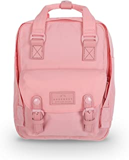 Doughnut Macaroon Mini Pastel Series Unisex Adult Backpack, unisex_adult, Daypack, D124SC-0093-F, Light Coral, One Size
