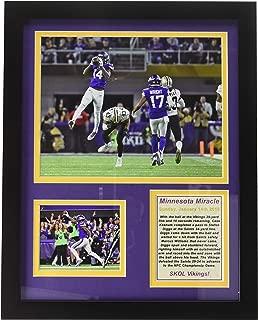 Minnesota Vikings - Minnesota Miracle - NFC Divisional Win - Framed 12