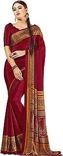 Jaanvi fashion Women's Elegant Crepe Silk Printed Saree(divine-7610-a)