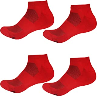Men's Rayon from Bamboo Fiber Sports Superior Wicking Athletic Ankle Socks
