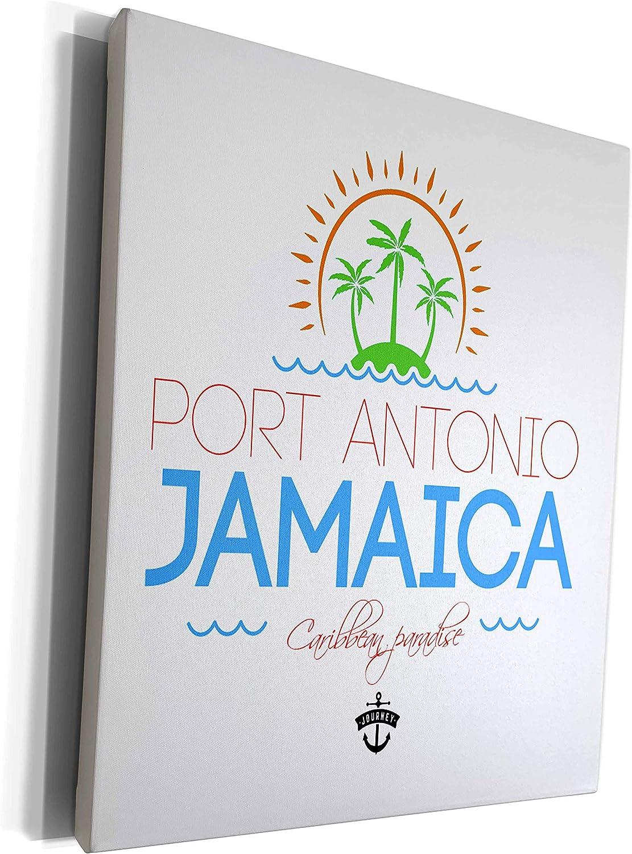 Popular brand 3dRose Genuine Free Shipping Alexis Design - Caribbean Jamaica Port Antonio Beaches
