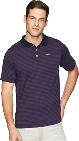 SB Dry Short Sleeve Stripe Polo