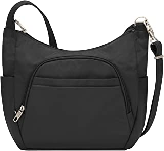 Travelon Anti-theft Classic Crossbody Bucket Bag