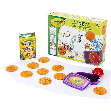Crayola - Atelier de Tampons - Loisir créatif - Kits d'activités - à partir de 4 ans - Jeu de dessin et coloriage