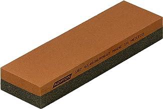 NORTON India combinatie-oliesteen/slijpsteen/wetsteen | 178 x 51 x 25 mm | Korreling: grof (100) / fijn (320) combinatie