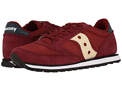 Saucony Originals Jazz Low Pro (Maroon/Navy) Men