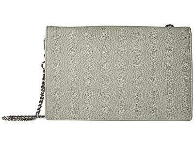 AllSaints Fetch Chain Wallet (Blue/Grey) Wallet Handbags