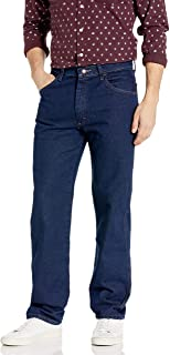 بنطلون جينز رجالي بمقاس عادي من مافريك