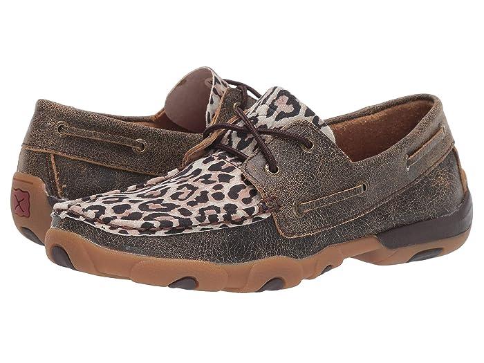 Twisted X  WDM0057 (Distressed/Leopard) Womens Boots