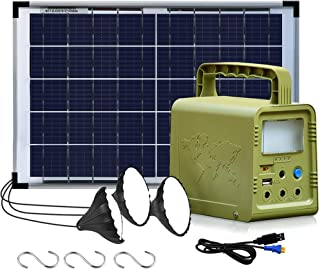 JOYWAY-Blue Carbon SOLAR PORTABLE MINI SMART POWER ALONG WITH 3 BULB WITH 5 YEAR WARRANTY FOR CAMPING| BREEDING INDUSTRY|F...