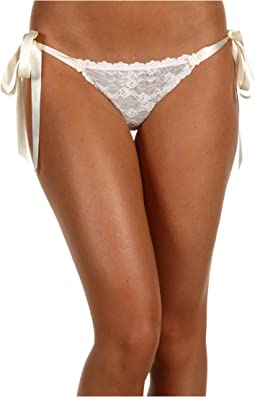 Peek-A-Boo Lace Side Tie Bikini