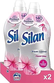 Silan Fresh Control Floral Crisp wasverzachter (100 wasbeurten) - wasverzachter met geurparels voor een langdurig lekkere ...