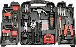 130-Piece Multipurpose Multifunction Home Repair Maintenance Tool Set