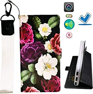HYJPT Case for Sony Xperia T2 Ultra D5303 D5306 Cover Flip PU Leather + Silicone case Fixed HUA