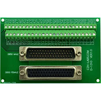 Plug DB50 DD DDM50PZK87 DDM50PZK87 DM Series Steel Body D Sub Connector Through Hole 50 Contacts
