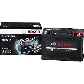 BOSCH (ボッシュ) 輸入車バッテリー ブラック-EFB BLE-70-L3