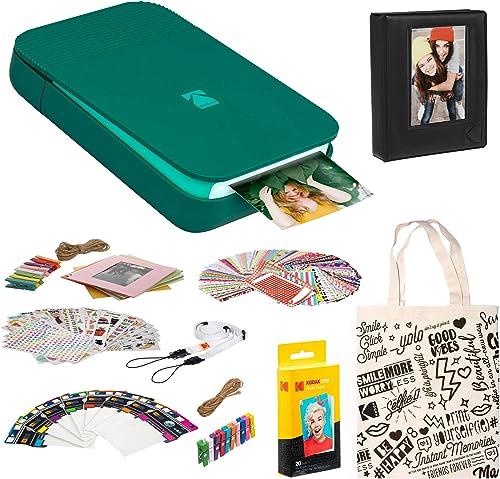 popular KODAK new arrival Smile Instant sale Digital Printer (Green) Photo Frames Kit outlet sale
