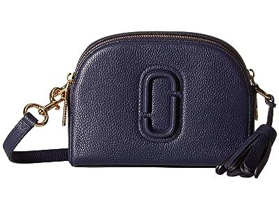 Marc Jacobs Shutter Crossbody (Navy) Handbags