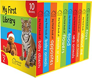 My First Library Pack 2: Boxset of 10 Board Books For Kids