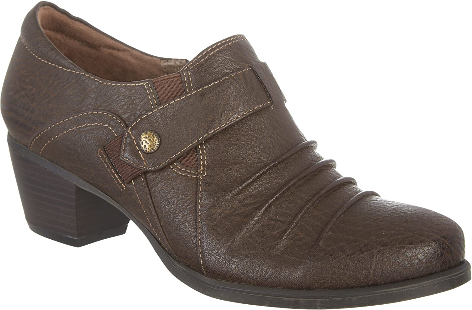 Natural Soul by Naturalizer Womens Kariano shoes 6.5M Brown