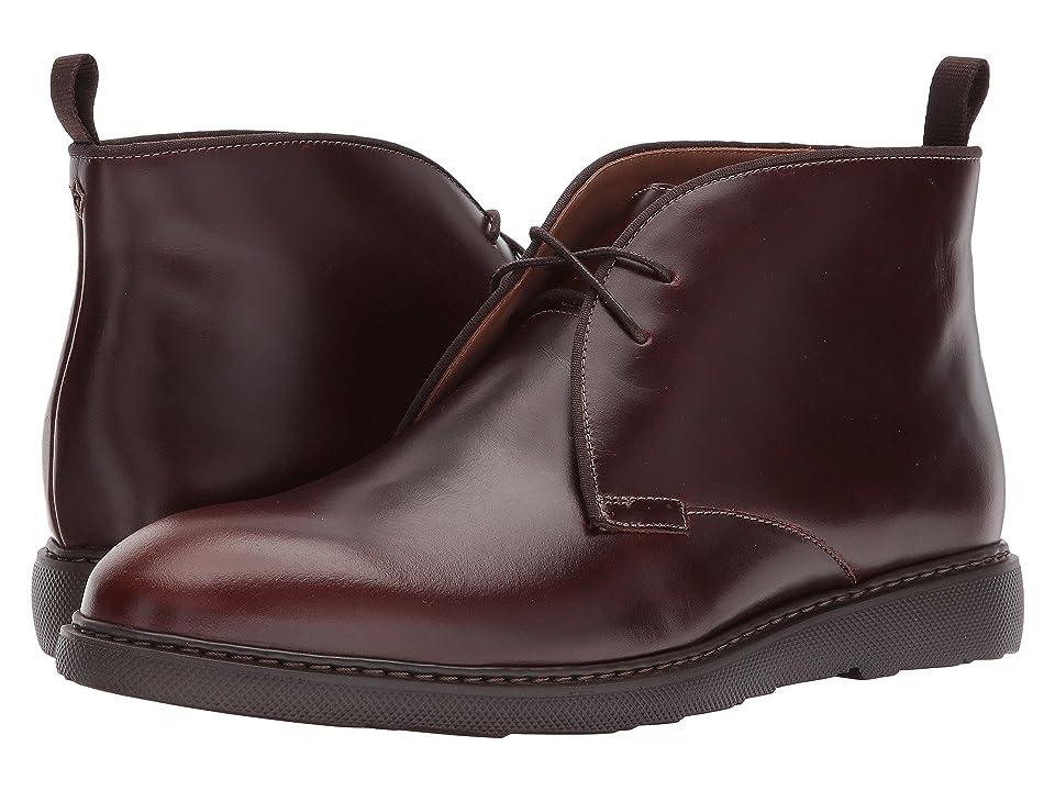 Bostonian Cahal Mid (Mahogany Leather) Men