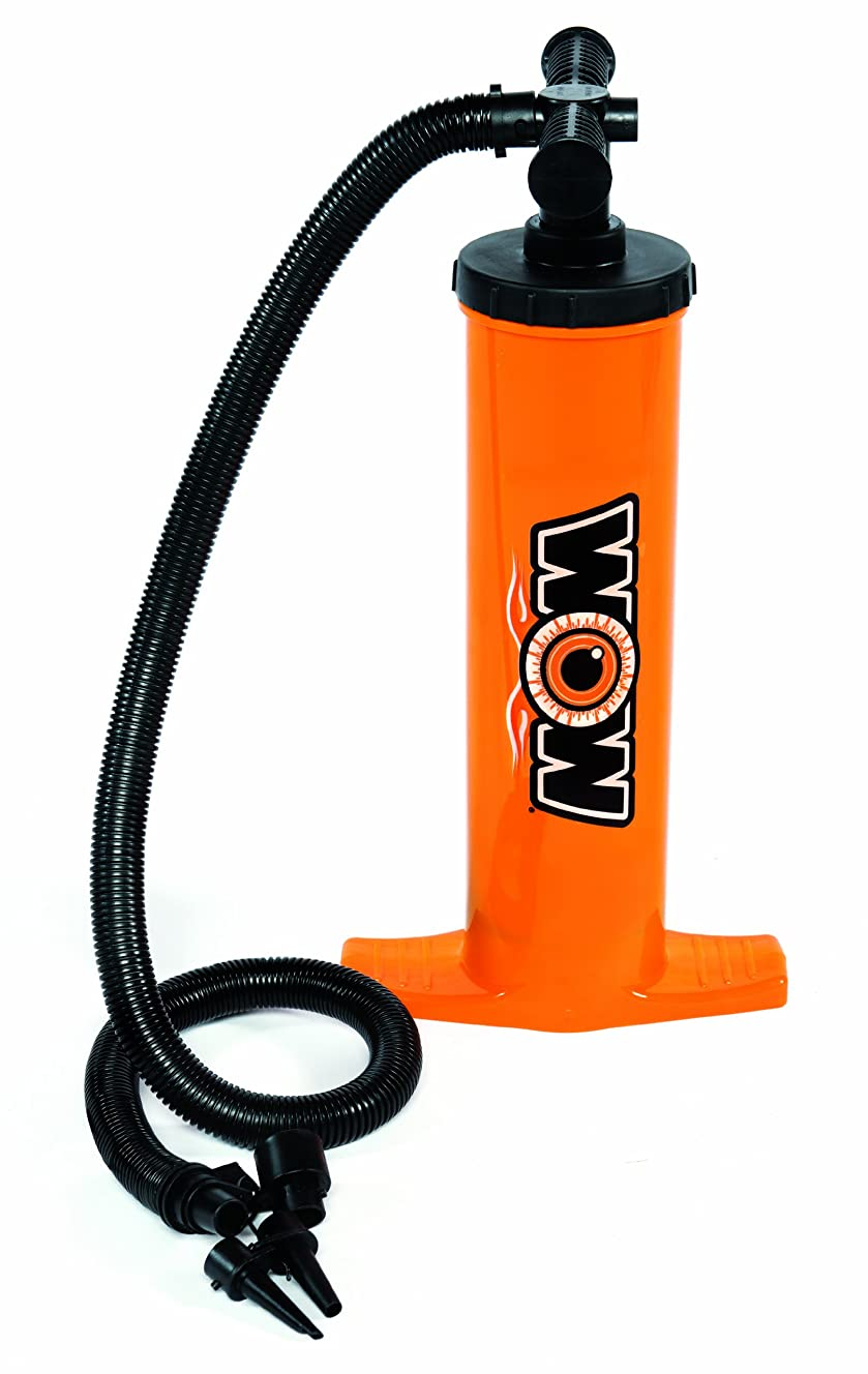 WOW World of Watersports, 13-4030, Double Action Hand Pump, Airflow with Up Stroke and Down Stroke