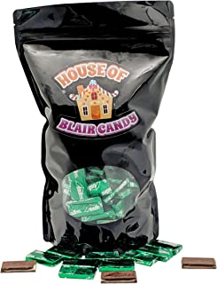 Andes Mints Classic Crème de Menthe Chocolate Candy - 2 LB Resealable Stand Up Bag (approx. 180 pieces) - Classic After Dinner Chocolate Mint Candies - Bulk Filler Candy