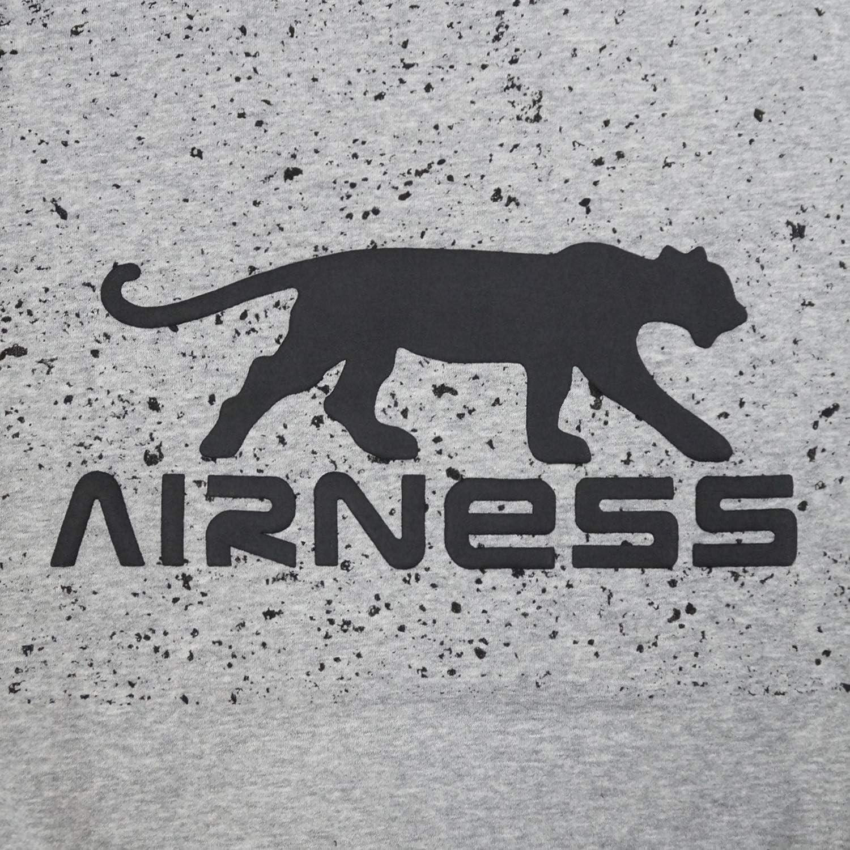 Airness Sweat Gris Homme Grunge