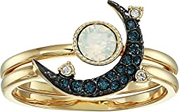 Duo Moon Ring