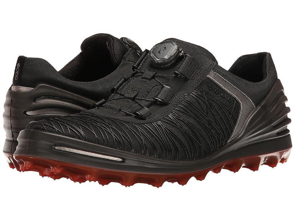 ECCO Golf Cage Pro Boa (Black) Men