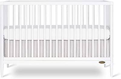 Dream On Me Clover 4-in-1 Modern Island Crib with Rounded Spindles