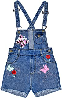 Sponsored Ad - Peacolate 5-10T Little&Big Girls Adjustable Straps Short Overalls Jeans Outfits