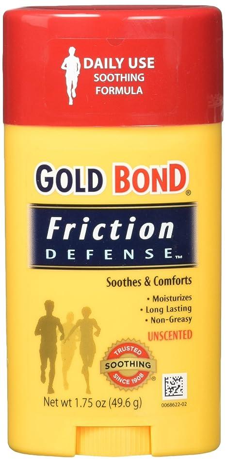 Gold Bond Friction Defense Stick Unscented 1.75 oz (Pack of 3)