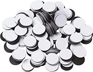 """BYKES Magnets 1/2"""" Round Disc with Adhesive Backing - 250 Pcs"""