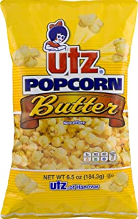 Utz Quality Foods Butter Popcorn 6.5 oz. Bag (6 Bags)