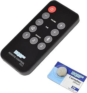 HQRP Remote Control Works with Polk Audio RE1305-2 RE1305-1 3000 4000 6000 ONE Step SB6000IHT SB4000IHT SB3000IHT Instant Home Theater Soundbar Speaker System Controller