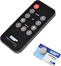 HQRP Remote Control Works with Polk Audio RE1305-2 RE1305-1 3000 4000 6000 ONE Step..