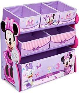 Delta Children 6-Bin Toy Storage Organizer, Disney Minnie Mouse